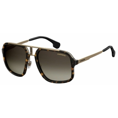 Picture of Carerra Ladies' Sunglasses - Havana Gold/Brown Gradient Lens