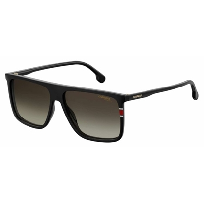 Picture of Carerra Black Sunglasses with Brown Gradient Lens