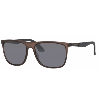 Picture of Carerra Rectangular Sunglasses - Matte Brown/Grey/Grey Mirror