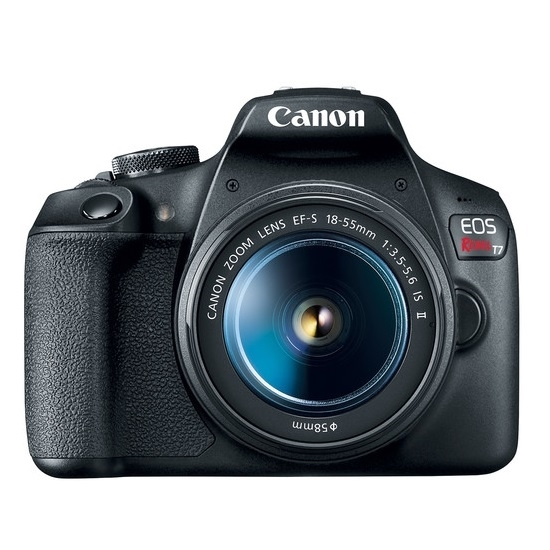 Picture of Canon 24.1MP Digital SLR with 18-55mm Lens & SD Card
