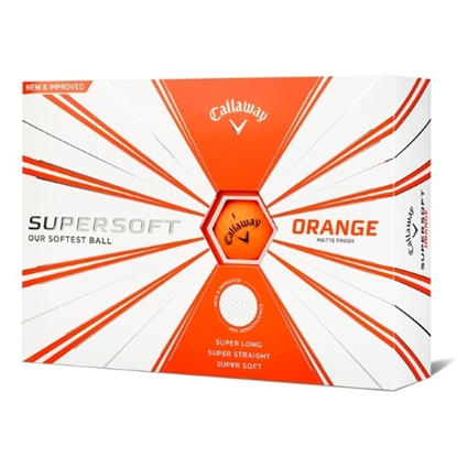 Picture of Callaway Supersoft Golf Balls - 2 Dozen/Orange