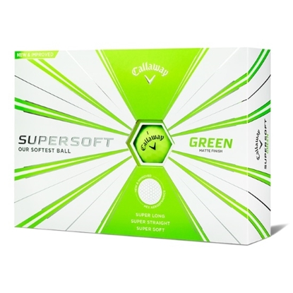 Picture of Callaway Supersoft Golf Balls - 2 Dozen/Green