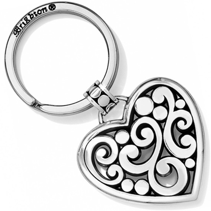 Picture of Brighton® Contempo Heart Key Fob - Silver