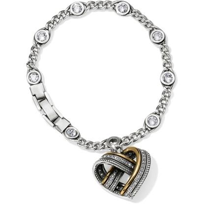 Picture of Brighton® Neptune's Rings Woven Heart Bracelet