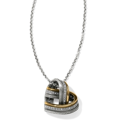 Picture of Brighton® Neptune's Rings Woven Heart Necklace