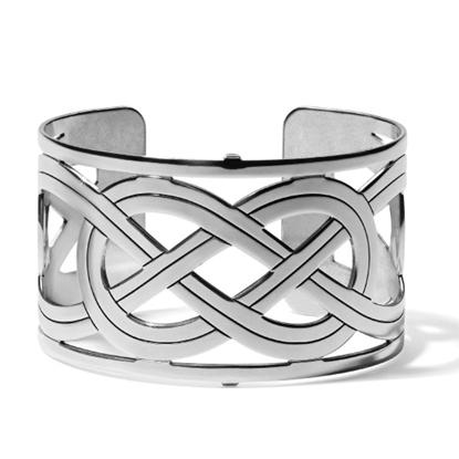 Picture of Brighton® Christo Interlok Wide Cuff Bracelet