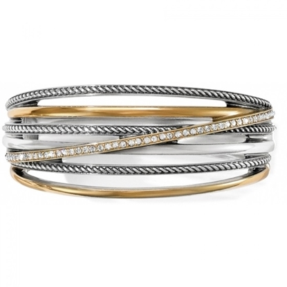 Picture of Brighton® Neptune's Rings Bangle - Silver-Gold