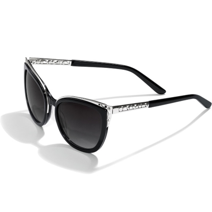 Picture of Brighton® Contempo Ice Sunglass - Black/Silver