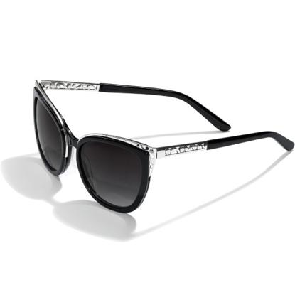 Picture of Brighton® Contempo Ice Sunglass - Black/Silver