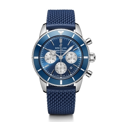Picture of Breitling Superocean Heritage II B01 Chrono 44 - Blue Strap