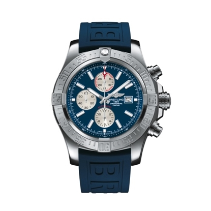 Picture of Breitling Super Avenger II - Diver Pro 3 Strap & Blue Dial