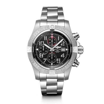Picture of Breitling Super Avenger II - Steel with Black Dial
