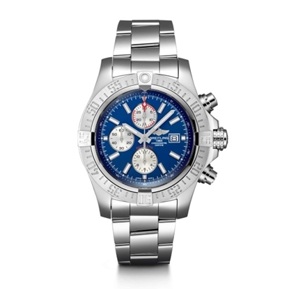 Picture of Breitling Super Avenger II - Steel with Blue Dial