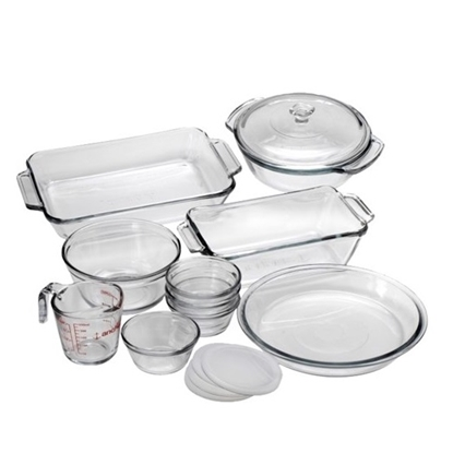 Picture of Anchor Hocking 15-Piece Preferred Bake Set