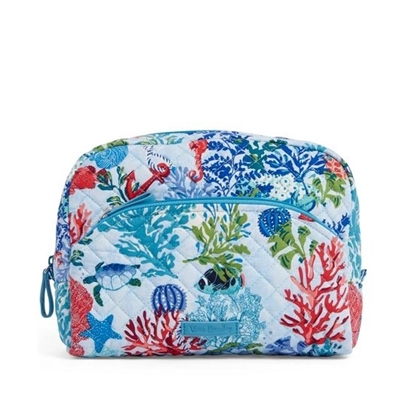 Picture of Vera Bradley Iconic Large Cosmetic