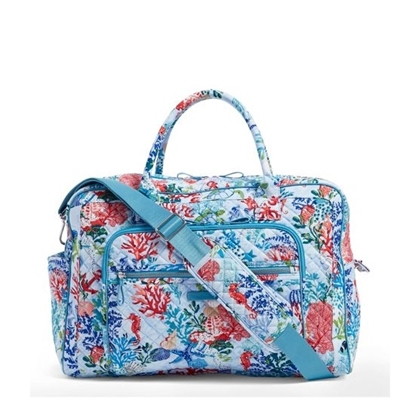 Picture of Vera Bradley Iconic Weekender Travel Bag
