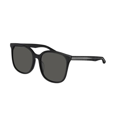 Picture of Balenciaga Verso Sunglasses - Shiny Black/Grey