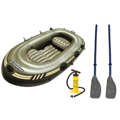 Picture of Swimline® Outdoorsman Fishing Boat with Oars and Pump