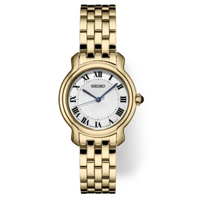 Picture of Seiko Ladies' Essentials Gold-Tone Watch
