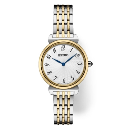 Picture of Seiko Ladies' Essentials Two-Tone Watch with Silver Dial