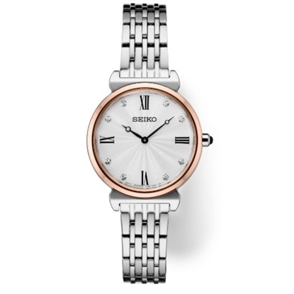 Picture of Seiko Ladies' Essentials Watch with Silver Dial & Crystals