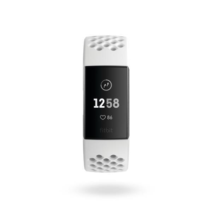 Picture of Charge 3™ Advanced Fitness Tracker Special Edition Frost White Sport Band