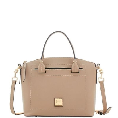 Picture of Beacon Domed Satchel - Light Taupe