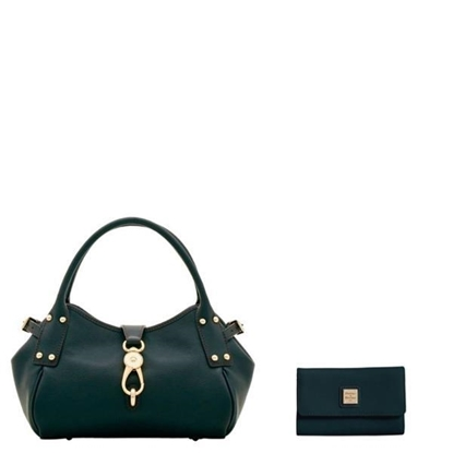 Picture of Belvedere Small Logo Satchel and Wallet
