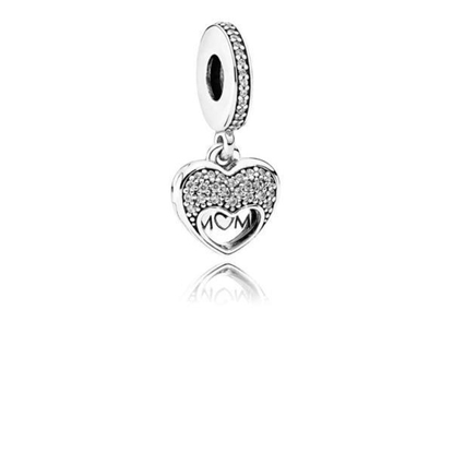 Picture of Pandora® I Love My Mom Pendant Charm