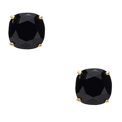 Picture of Kate Spade Small Square Stud Earrings - Black