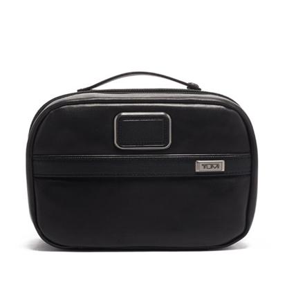 Picture of Tumi Alpha 3 Leather Split Travel Kit - Black