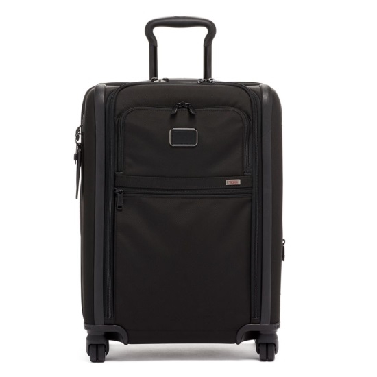 Picture of Tumi Alpha 3 Continental Dual Access 4-Wheeled Carry-On- Black