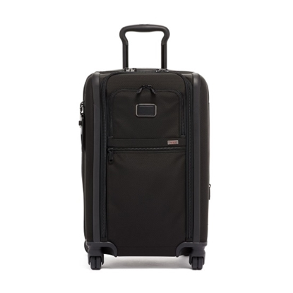 Picture of Tumi Alpha 3 Int'l Dual Access 4-Wheeled Carry-On - Black