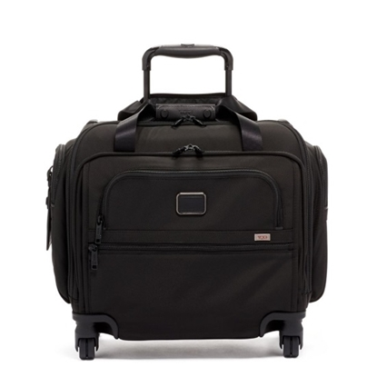 Picture of Tumi Alpha 3 Compact Four-Wheeled Duffel - Black