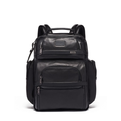 Picture of Tumi Alpha 3 Leather Brief Pack - Black
