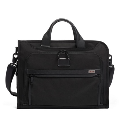Picture of Tumi Alpha 3 Slim Deluxe Portfolio - Black