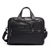 Picture of Tumi Alpha 3 Expandable Leather Organizer Laptop Brief - Black