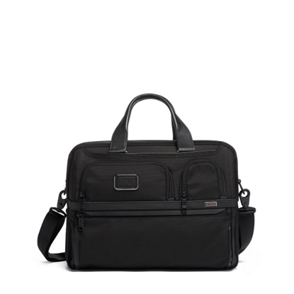 Picture of Tumi Alpha 3 Expandable Organizer Laptop Brief - Black