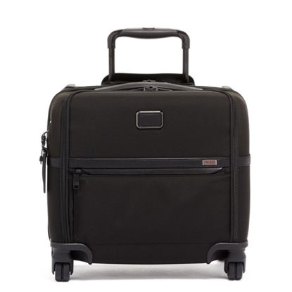 Picture of Tumi Alpha 3 Compact Four-Wheeled Brief - Black