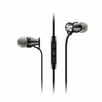 Picture of Sennheiser Momentum M2 In-Ear Headphones (for Apple)- Blk/Chrm
