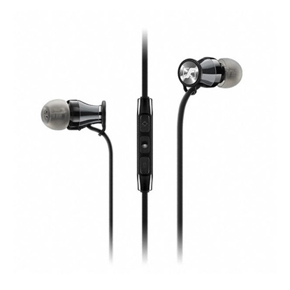 Picture of Sennheiser Momentum M2 In-Ear Headphones - Black/Chrome