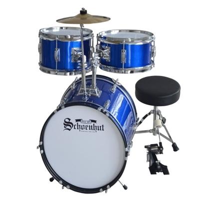 Picture of Schoenhut 5-Piece Drum Set - Blue