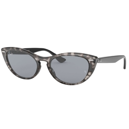 Picture of Ray-Ban® Nina Cat-Eye Sunglasses - Grey Havana/Blue