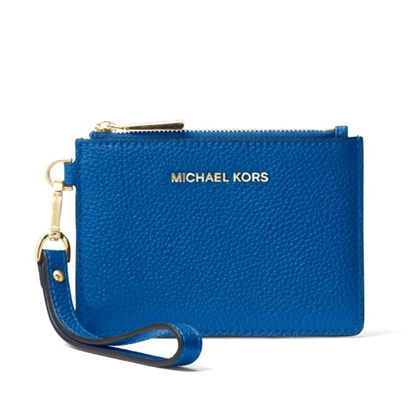 Picture of Michael Kors Small Coin Purse - Grecian Blue