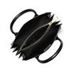 Picture of Michael Kors Mercer Medium Accordion Convertible Tote - Black