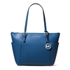 Picture of Michael Kors Jet Set E/W Top-Zip Tote - Grecian Blue