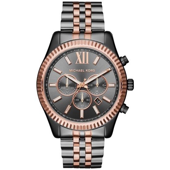 Picture of Michael Kors Men's Lexington Two-Tone Watch