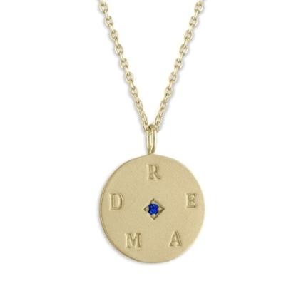 Picture of Lulu DK 14K Gold-Plated Dream Medallion Necklace
