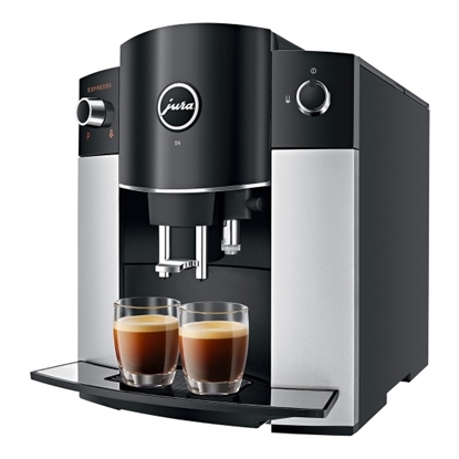Picture of Jura D6 Platinum Espresso Machine with Smart Connect