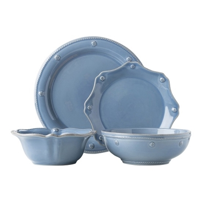 Picture of Juliska Berry & Thread Chambray 4-Piece Place Setting